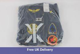 Onepiece Unisex Aviator Jumpsuit, Navy, Size S