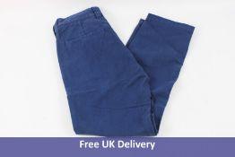 True Religion Basic Pants, Blue, Waist 32