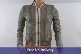 Beate Heymann Street Couture Jacket, Checked Grey. EU 36