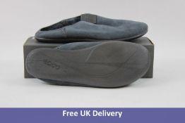 Ecco Women's Easy M Slippers, Grey, UK 7.5