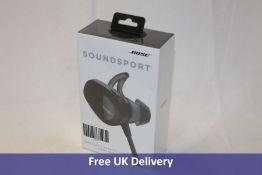 Bose SoundSport Wireless Bluetooth Earphones, Black