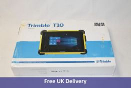 """Trimble T10 Tablet PC with Integrated GNSS/SBAS receiver, Windows 10 Enterprise, 10.1"""" Screen, AC-DC"""
