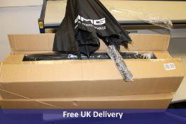 Twenty four AMG Driving Performance branded Umbrellas
