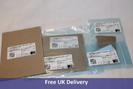 Thermal Pads for Electronic use to include 100x 5x5mm Blue, 50x 10x10mm Blue, 500x 5x5mm Blue and 12