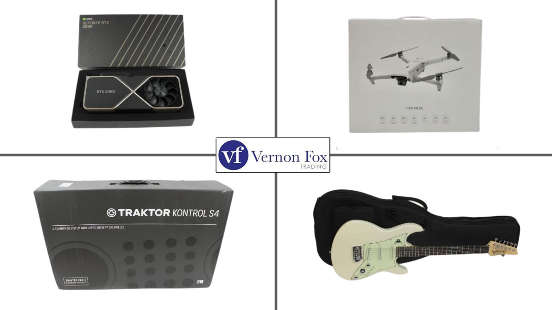 TIMED ONLINE AUCTION: Large range of IT, Technology, Music and Audio items. FREE UK DELIVERY!