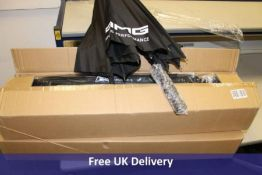 Twenty four AMG Driving Excellence branded Umbrellas, Black