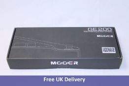 Mooer GE200 Amp Modelling and Multi-Effects