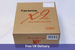 Two Taranis Radio Control items to include 1x X9 Lite Digital Telemetry Radio System Controller, Ope