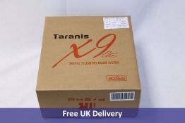 Two Taranis Radio Control items to include 1x X9 Lite Digital Telemetry Radio System Controller, Ers