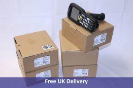 Five Zebra MC32N0 Handheld Barcode Scanners