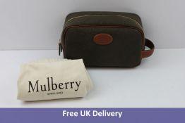 Mulberry Scotchgrain Wash Bag