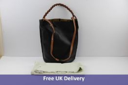 Loewe Gate Large Bucket Bag, Black