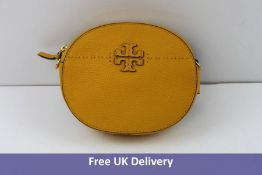 Tory Burch Mcgraw Women's Convertible Bag, Mustard