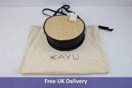 Kayu Women's Carrie Bag, Natural & Navy, Size S