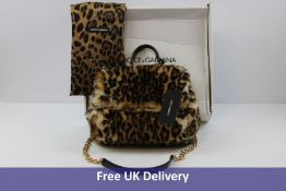 Dolce & Gabbana Women's Sicily Shoulder Bag, Leopard-print