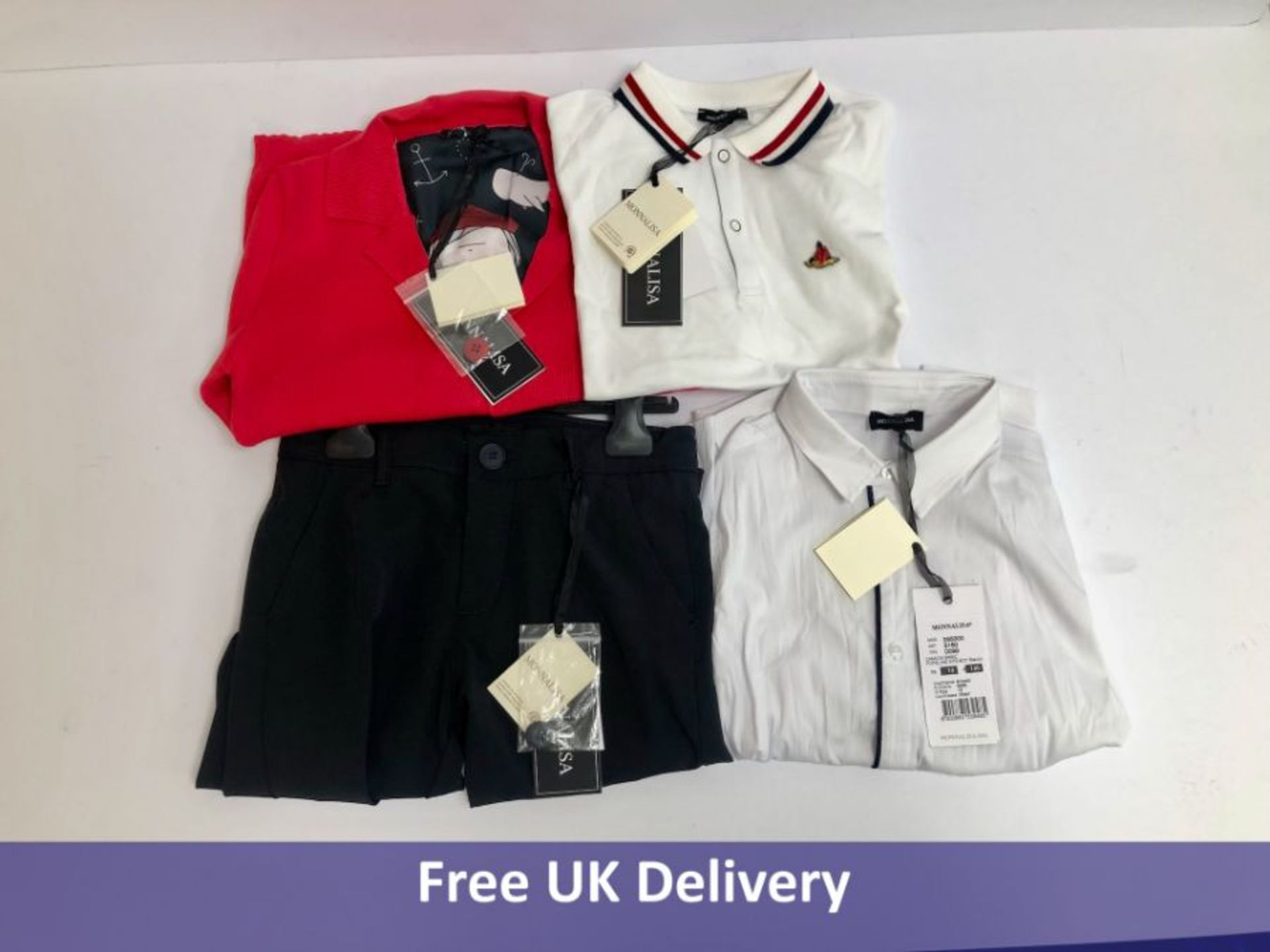 Four items of Monnalisa Children's Clothing