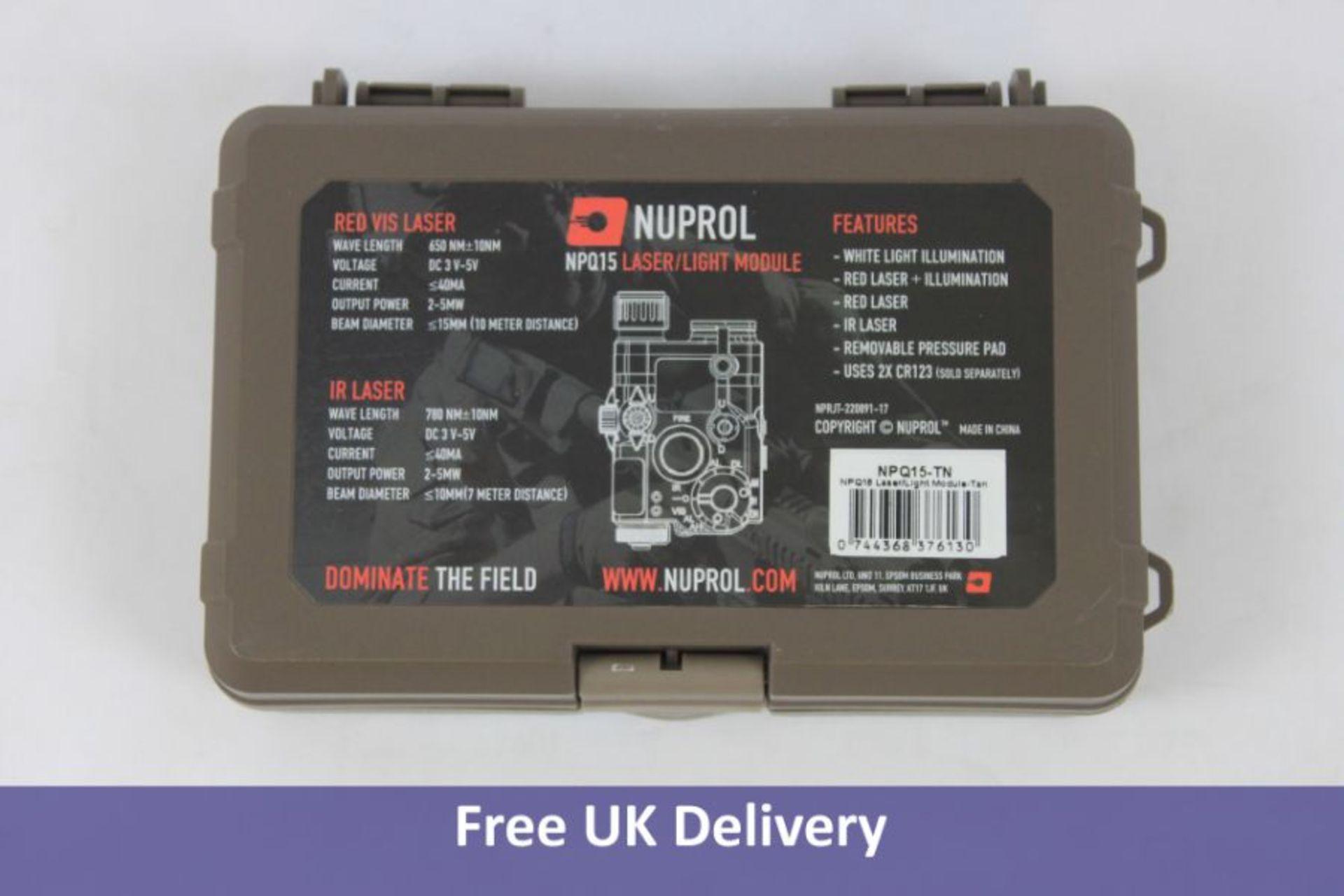Nuprol NPQ15 Laser Light Module, Tan