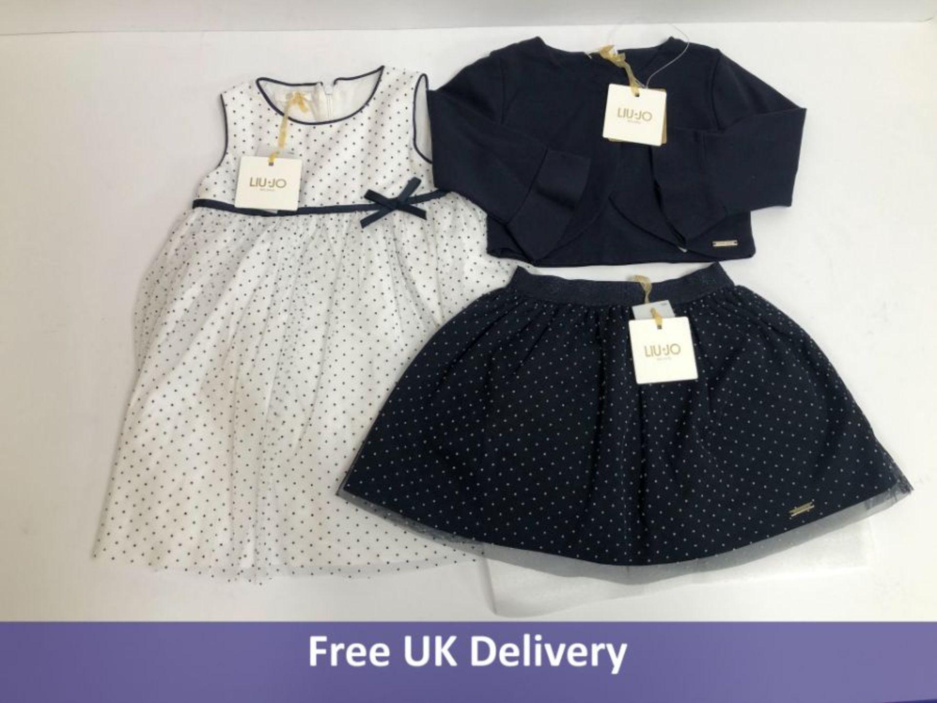 Three items of Liu-Jo Milano Children's Clothing, Aged 4