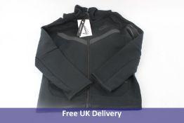 Nike Junior Tech Fleece Hoodie, Black, Size XS