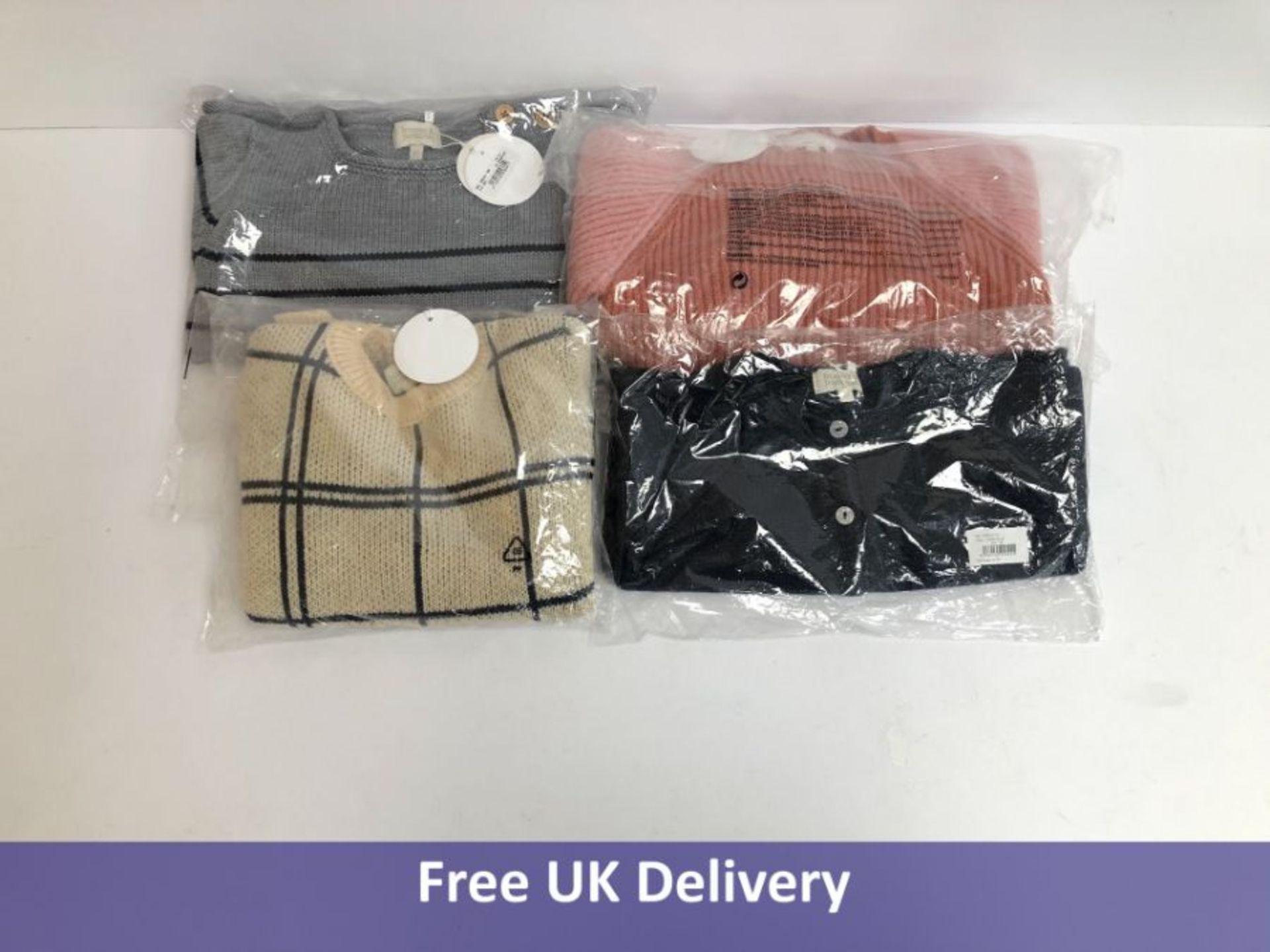 Four items of Bonnet a Pompon Children's Clothing