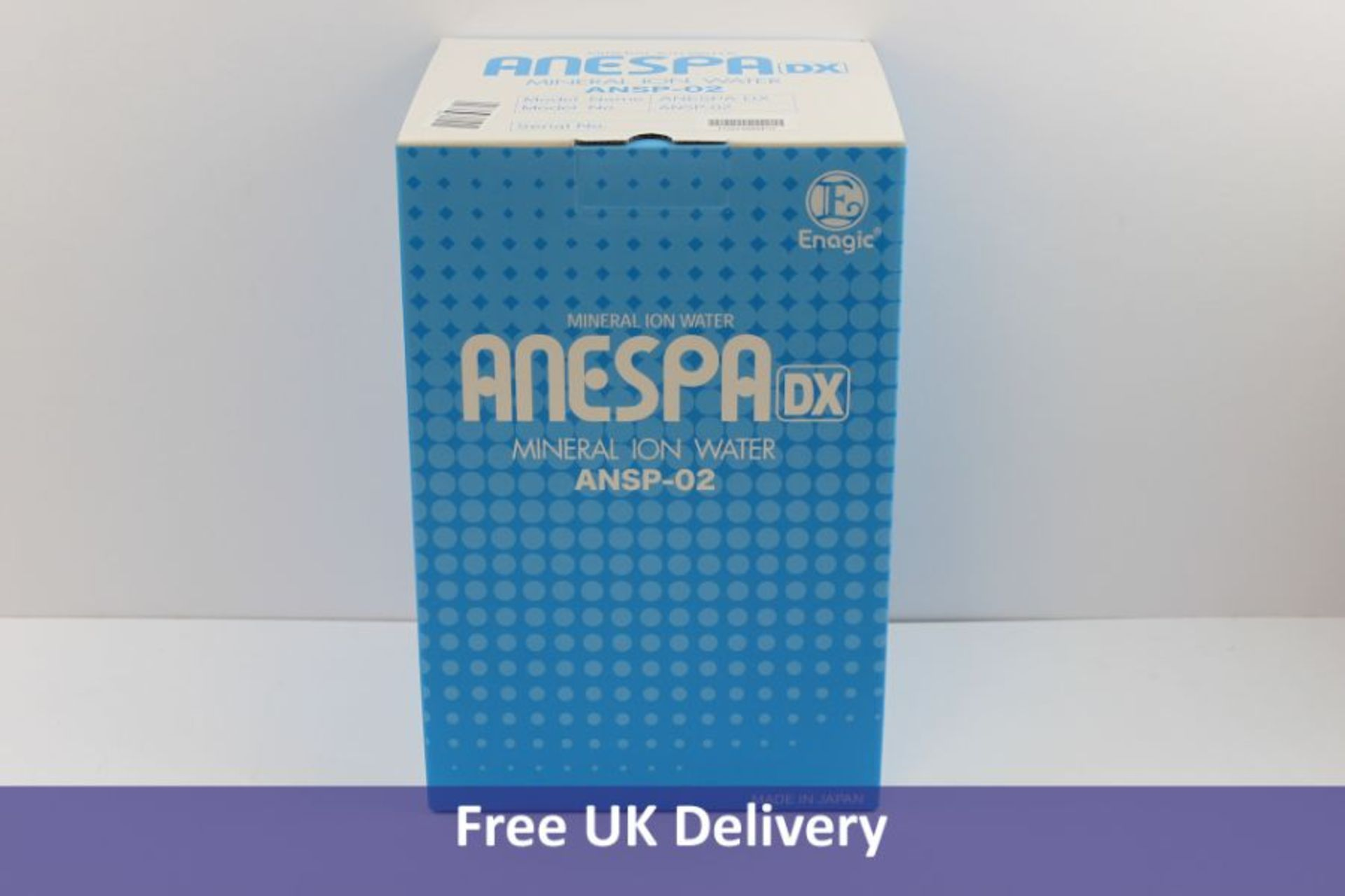 Anespa.Dx Mineral ION Water ANSP-02 Purification System.