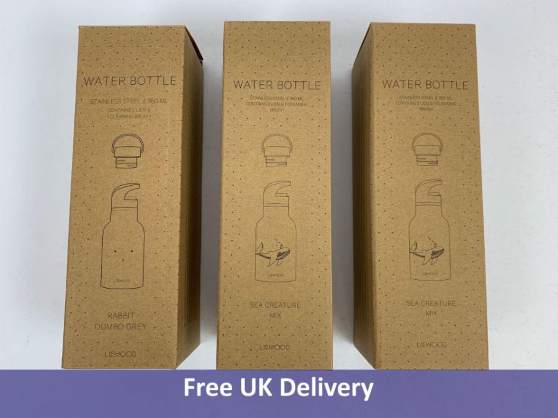 Three Liewood Anker Water Bottles