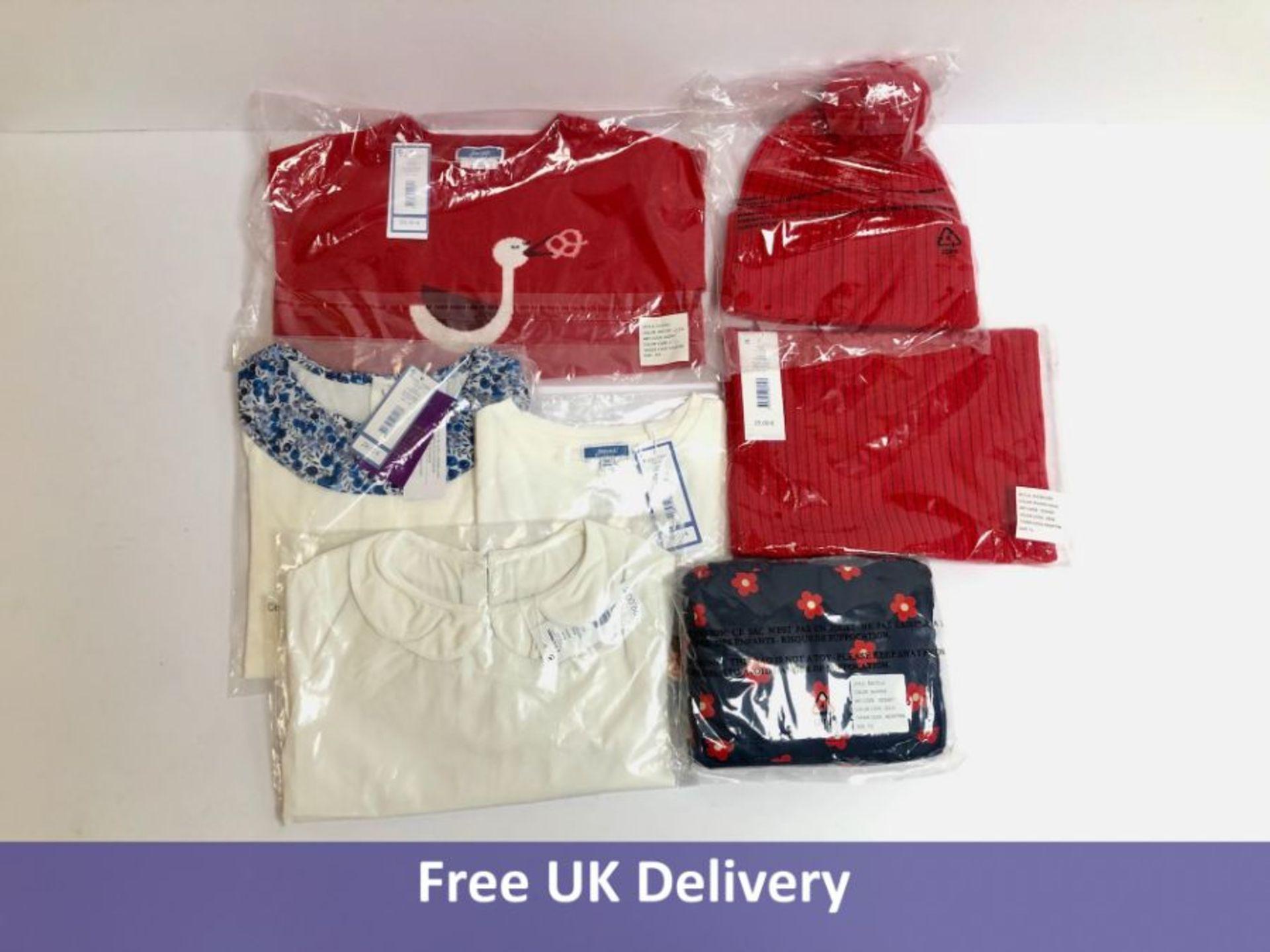 Seven items of Jacadi Girl's Clothing, 6yrs