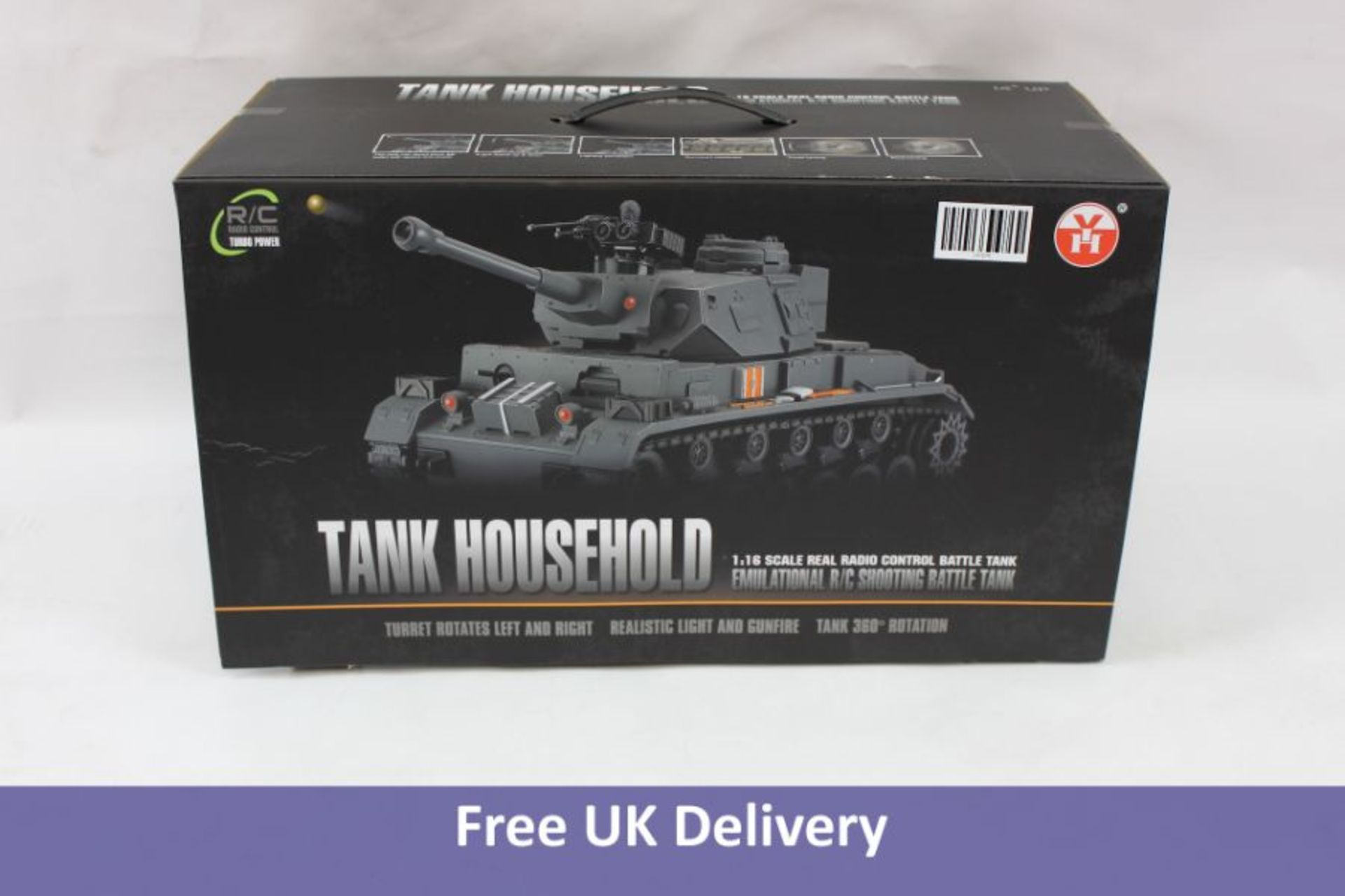 Remote Control RC German Tiger I 2.4GHz R/C Tank 1:16 scale model with shooting function
