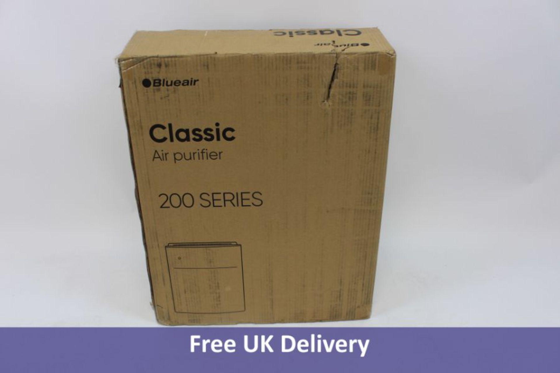 Blueair Classic Air Purifier Series 200, White. Box damaged