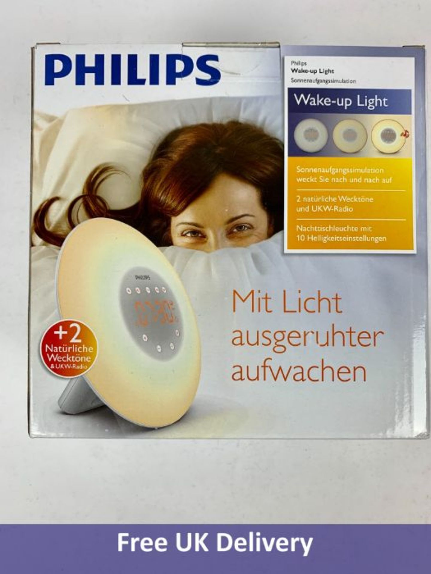 Philips Wake Up Alarm Clock with Light