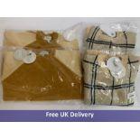 Five items of Bonnet a Pompon Children's Clothing
