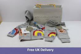 Stella Mccartney Infants Boys Tracksuit, Grey, Age 6 Months