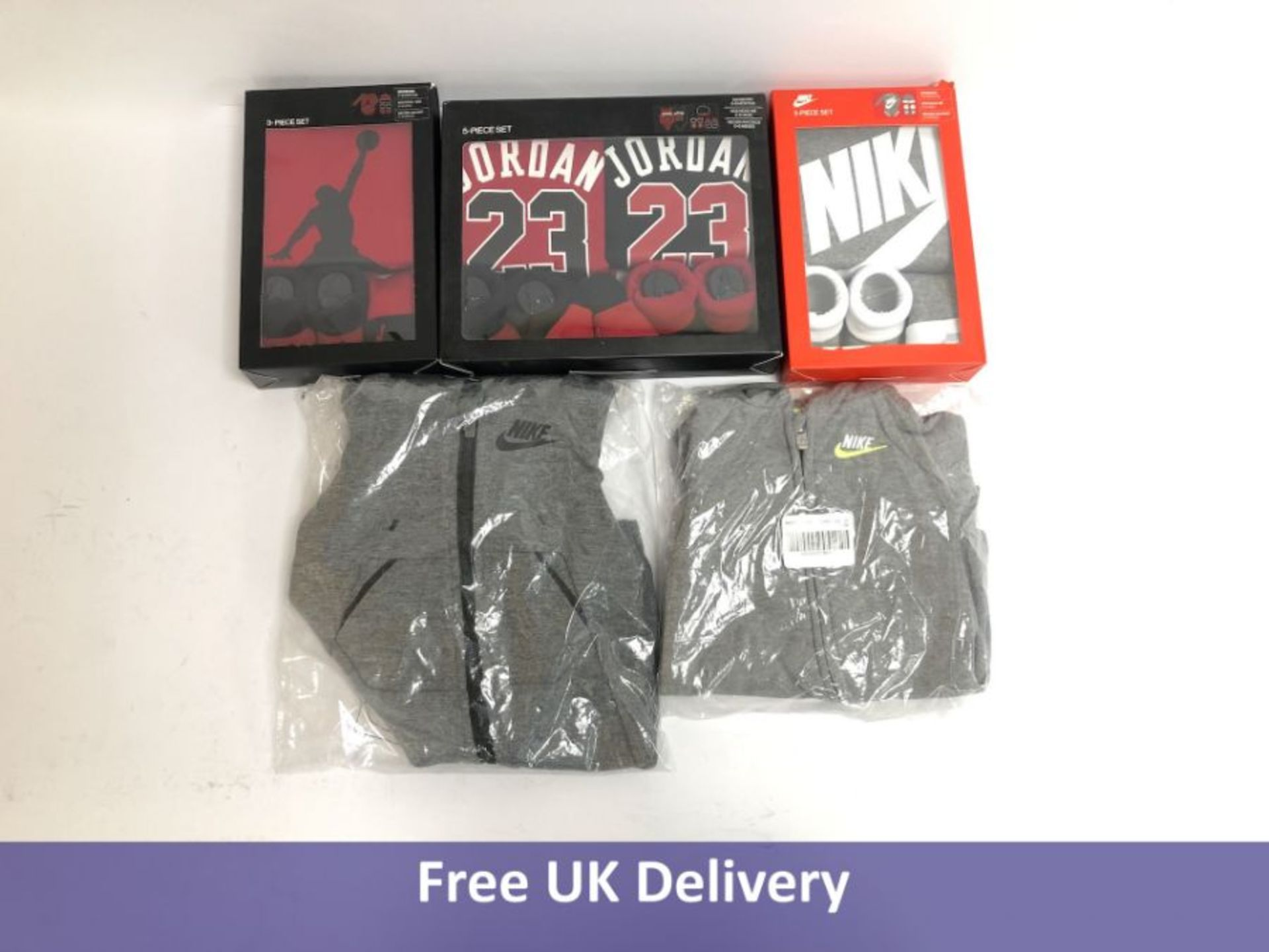 Five items of Nike Baby Clothing