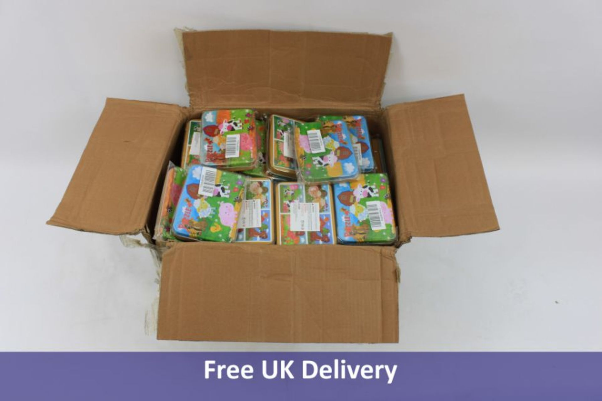 Eighty One Sets of 4 Children's Farmyard Puzzles
