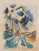 "Hermann Max Pechstein. ""Strahlende Sonne"". 1923"