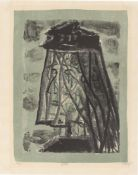 """Otto Dix. """"Die Witwe"""". 1957"""