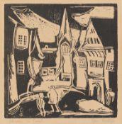 "Christian Rohlfs. ""Straße in Soest"". 1911"