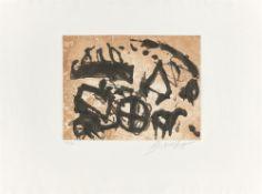 """Emil Schumacher. """"Tortura"""". 1993"""