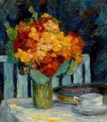 Otto Pippel. Stillleben mit Blumenstrauß.
