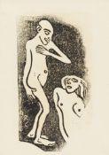 """Christian Rohlfs. """"Verliebt"""". Um 1912"""