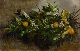 Hermione von Preuschen. Apfelsinenzweige. 1882