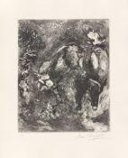 """Marc Chagall. Aus: """"Jean de La Fontaine: Fables"""". 1927/1952"""