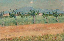"""Hans Olde. """"Südfrankreich (Provence)""""."""