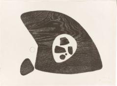 """Julius Bissier. """"6 Holzschnitte"""". 1948-52/1971"""