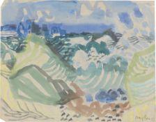 "Eduard Bargheer. ""Brandung II"". 1947"