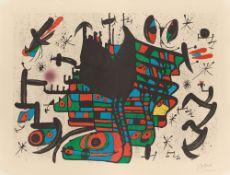 "Joan Miró. Aus: ""Homenatge à Joan Prats"". 1971"