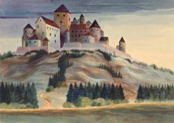 "Christian Arnold. ""Die Burg"". 1958"