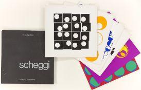 """Paolo Scheggi. """"6 Serigrafien"""". 1968"""