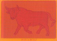 "Thomas Bayrle. ""Is it a Bull?"". 1972"