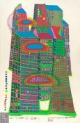 """Friedensreich Hundertwasser. """"Good Morning City"""". 1969/70"""